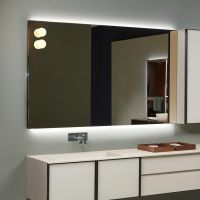 Зеркало Antonio Lupi Flash Flash90W с подсветкой