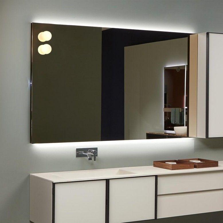 Зеркало Antonio Lupi Flash Flash90W с подсветкой ФОТО