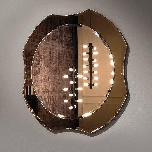 Зеркало без подсветки Antonio Lupi Luxor круглое