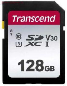 Карта памяти SD 128GB Transcend 300S (TS64GSDC300S)