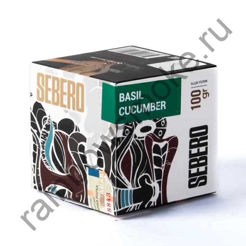 Sebero 100 гр - Basil Cucumber (Базилик Огурец)