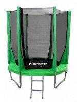 Батут OPTIFIT JUMP 8FT (2.44 м) зеленый