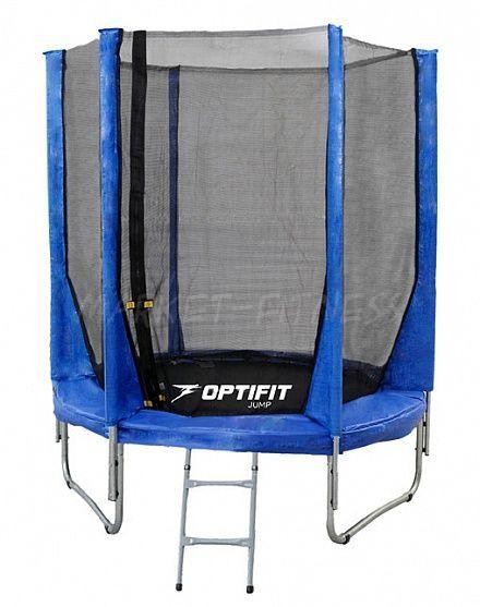 Батут OPTIFIT JUMP 8FT (2.44 м) синий