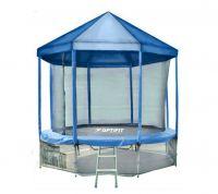 Батут OPTIFIT LIKE BLUE 10 FT (3.05 м) с синей крышей