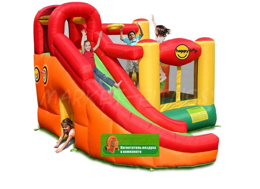Батут Happy Hop Игровой Центр 10 в 1 9106