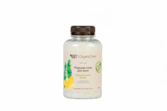ОрганикЗон - Соль для ванны Тропический банан. 250 мл