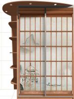 Наклейка на шкаф   障子 - Сёдзи | магазин Интерьерные наклейки