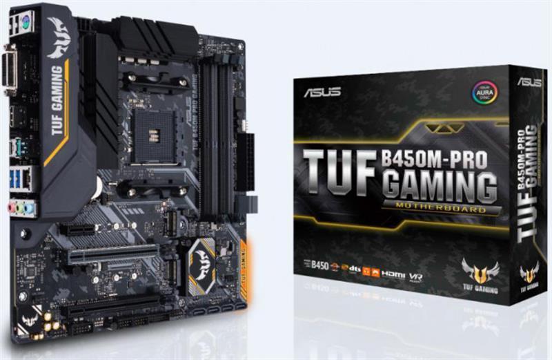 Материнская плата Asus TUF B450M-Pro Gaming Socket AM4