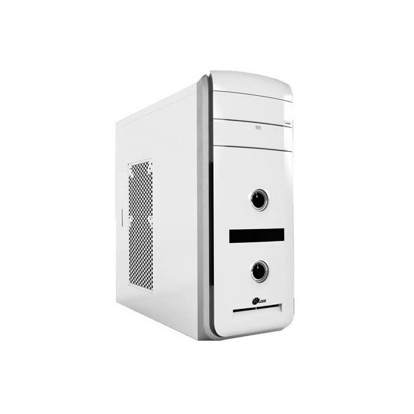 Корпус ProLogix A07B/7019 White PBS-500W-12cm; P/PFC, 3 hdd, 5 sata, 6pin, 6+2pin и 8pin разъемы, 120mm Fan on rear