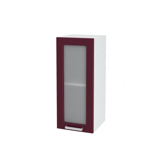 Шкаф верхний со стеклом Глория ШВС 300