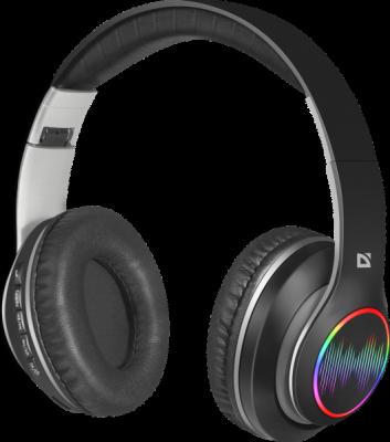 НОВИНКА. Беспроводная гарнитура FreeMotion B545 черный, LED, Bluetooth