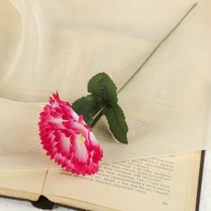 """Цветок искусственный """"Гвоздика"""" розовая"""