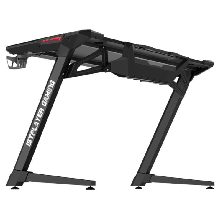Геймерский стол 1stPlayer GT1 Black + Подарок Коврик для мыши BK-39-H (900x350x5 мм)