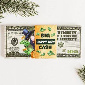 Пачка новогодних купюр «Сто долларов»
