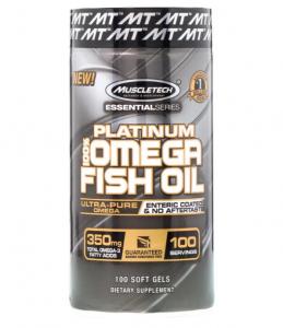 Muscletech Omega 3  100 капс