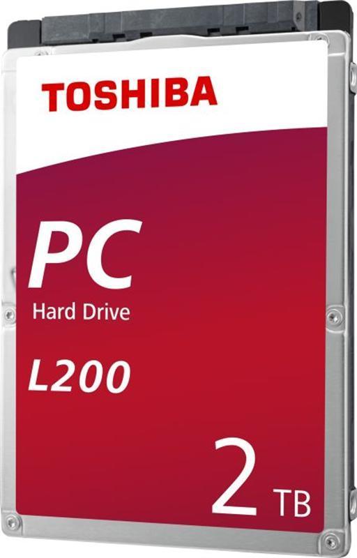 """Накопитель HDD 2.5"""" SATA 2.0TB Toshiba L200 5400rpm 128MB (HDWL120UZSVA)"""