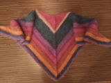 Малогабаритный бактус(мини-шаль).