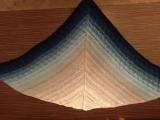 Вязаный бактус шаль платок косынка