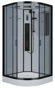 Душевая кабина Niagara Premium NG-6902-01G BLACK 100x100