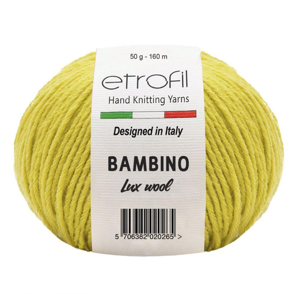 BAMBINO LUX WOOL Цвет №  70211