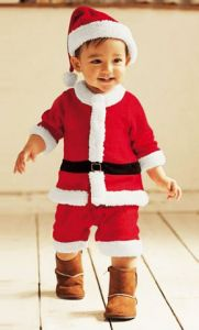 Костюм Санта детский