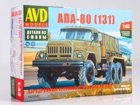 Сборная модель Аэродромный пусковой агрегат АПА-80 (131)