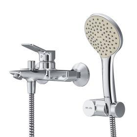 Смеситель для ванны и душа c душевым набором AM.PM X-Joy F85A15000