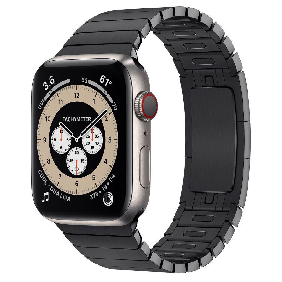 Часы Apple Watch Edition Series 6 GPS + Cellular 44mm Titanium Case with Space Black Link Bracelet