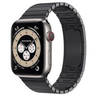 Часы Apple Watch Edition Series 6 GPS + Cellular 44mm Titanium Case with Space Black Link Bracelet