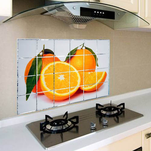 Защитный кухонный экран Kitchen Wall Stickers 45х75 см