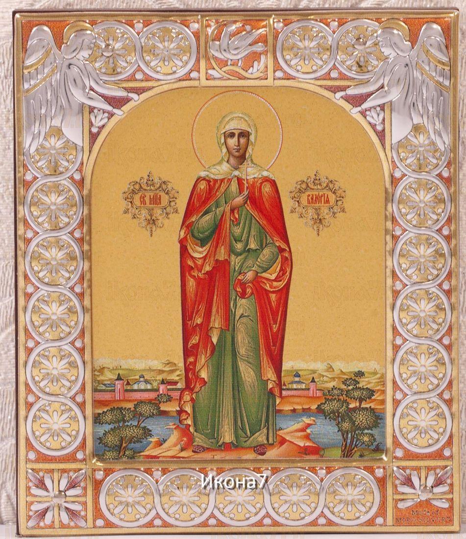 Икона Валерия Мученица (9х10,5см)