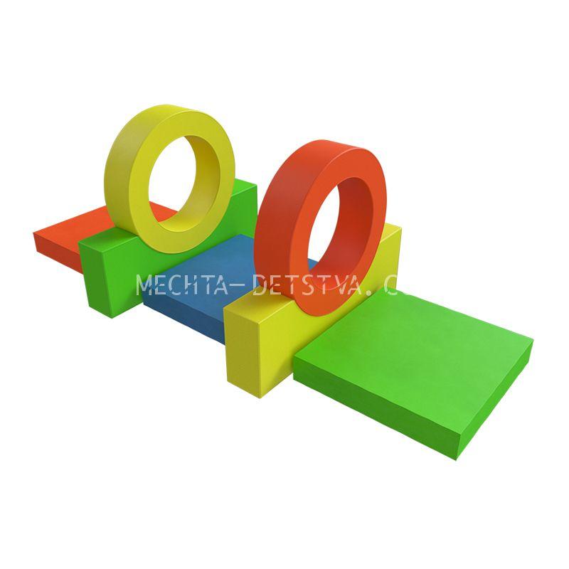 Мягкий спортивный модуль «2 колеса» ДМФ-МК-07.89.10