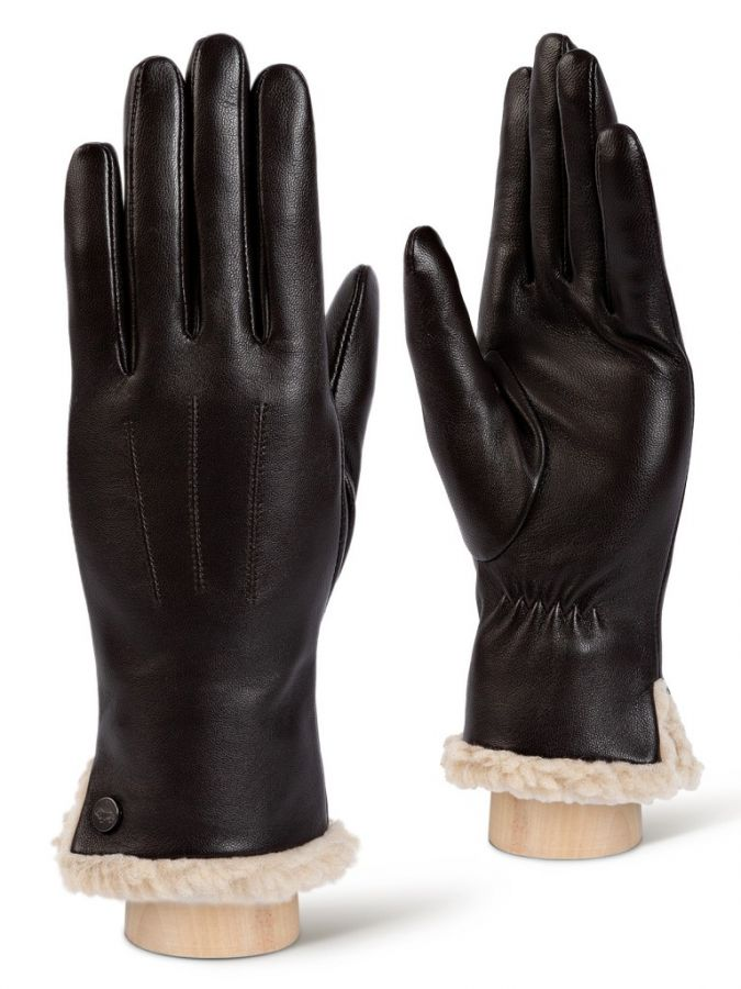 Коричневые перчатки LABBRA