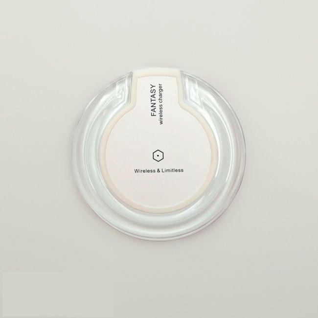 Беспроводное зарядное устройство fantasy wireless белое