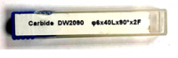 фреза карбидная DW2090/ф6*40L*90°*2F