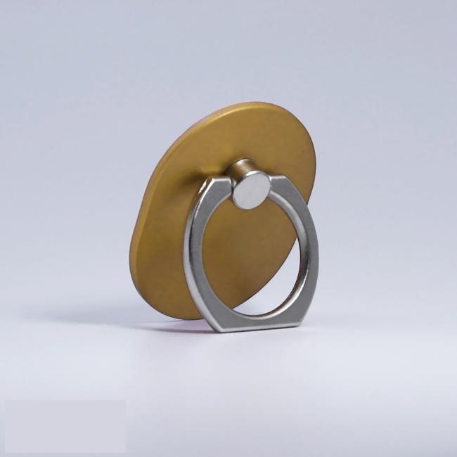 Кольцо-держатель для телефона золотое