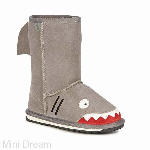 Детские угги Emu Shark (акула)