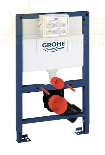 Инсталляция Grohe Rapid SL 38526000 для унитаза ФОТО