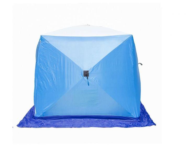 Палатка КУБ-2 LONG трехслойная дышащая СТЭК 1,8*2,1*1,75