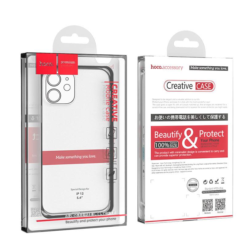 Силиконовый Чехол Hoco iPhone 12 mini