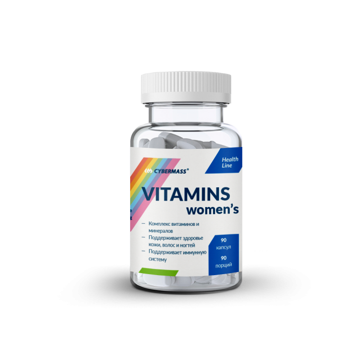 Cybermass - Vitamins womens