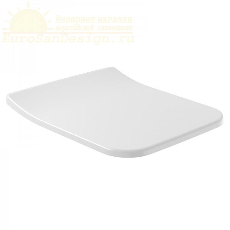 Сиденье с крышкой для унитаза Villeroy&Boch Architectura Slimseat 9M81S101 микролифт ФОТО