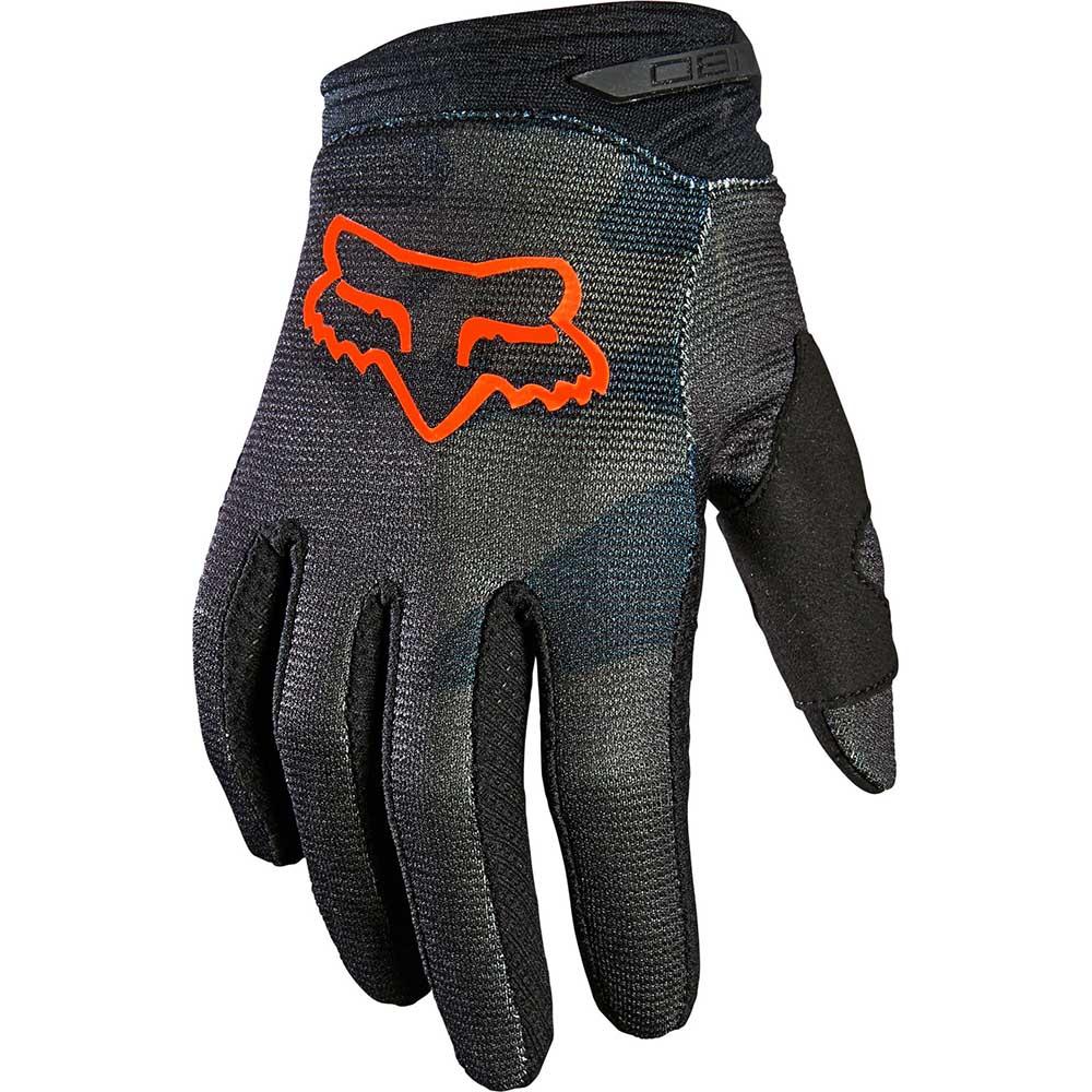 Fox 180 Trev Black Camo (2022) перчатки для мотокросса