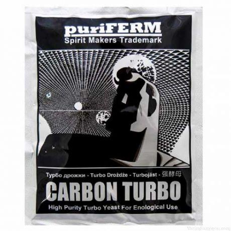Спиртовые турбо дрожжи PuriFerm Carbon Turbo, 106 г