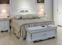 Кровать ЛАУРА 160*200 без изножья эмаль