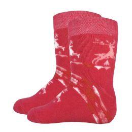 Детские махровые носки 5061 олени