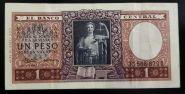 Аргентина 1 песо 1956