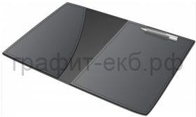 Папка (кожа) Buvardo для блокнота с ручкой черная