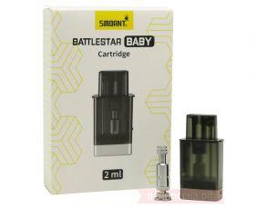 Картридж+2 испарителя Smoant Battlestar Baby Pod 2ml