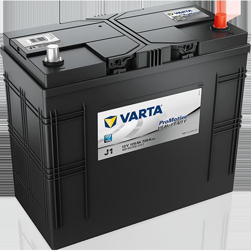 Автомобильный аккумулятор АКБ VARTA (ВАРТА) Promotive HD 625 012 072 J1 125Ач ОП (0)